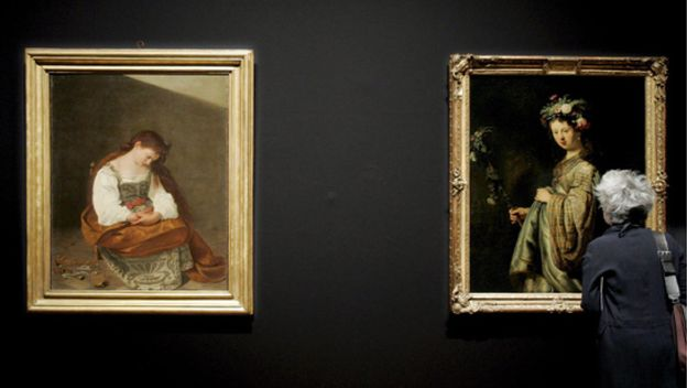 Foto: Amsterdam enfrenta a Caravaggio con Rembrandt en el Museo Van Gogh