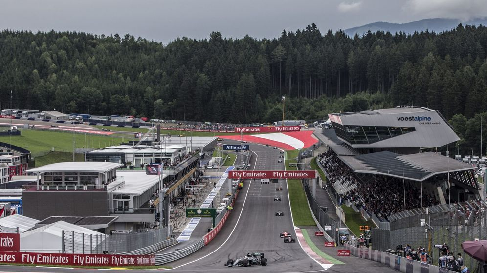 Foto: Imagen del Gran Premio de Austria de 2016. (EFE)
