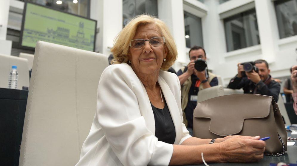 Foto: Manuela Carmena, durante su investidura el pasado día 13. (Reuters)