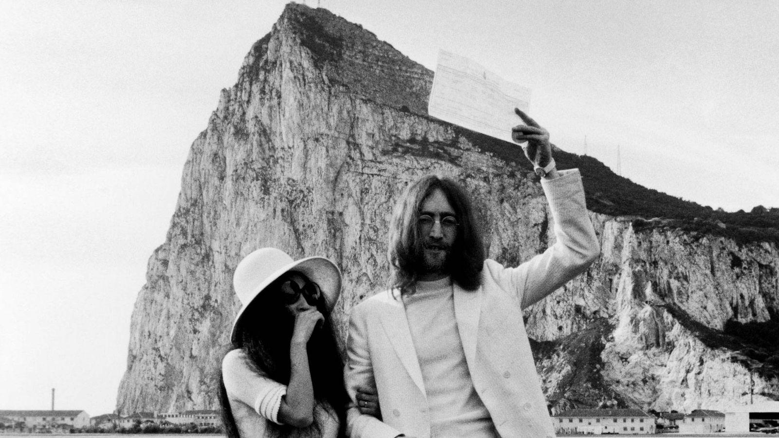 Foto:  John y Yoko. (Getty)