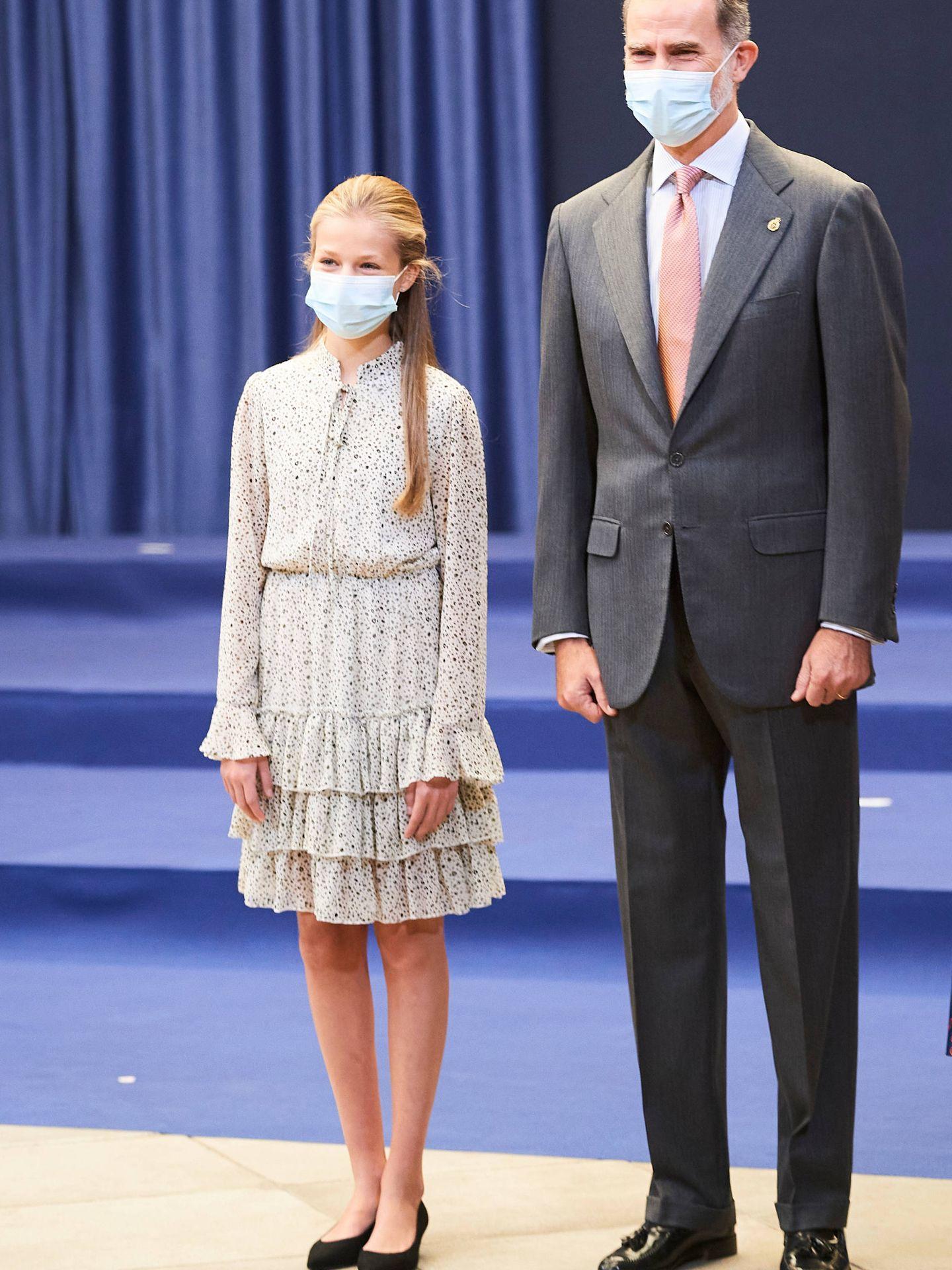 El rey Felipe VI y la princesa Leonor. (Limited Pictures)