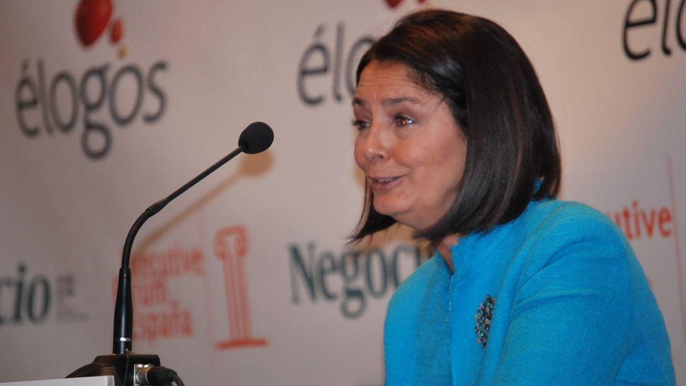 Foto: Paloma Adrados, exalcaldesa de Pozuelo y actual presidenta de la Asamblea de Madrid.