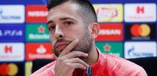 Post de Las presiones a Luis Enrique por Jordi Alba: Piqué, ¿por qué no te callas?