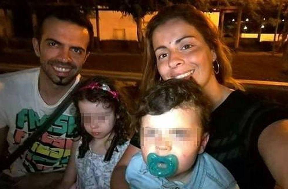 Foto: Sérgio Machado, Lígia Sousa y sus dos hijos murieron en el incendio. (Foto: cmjornal.pt)