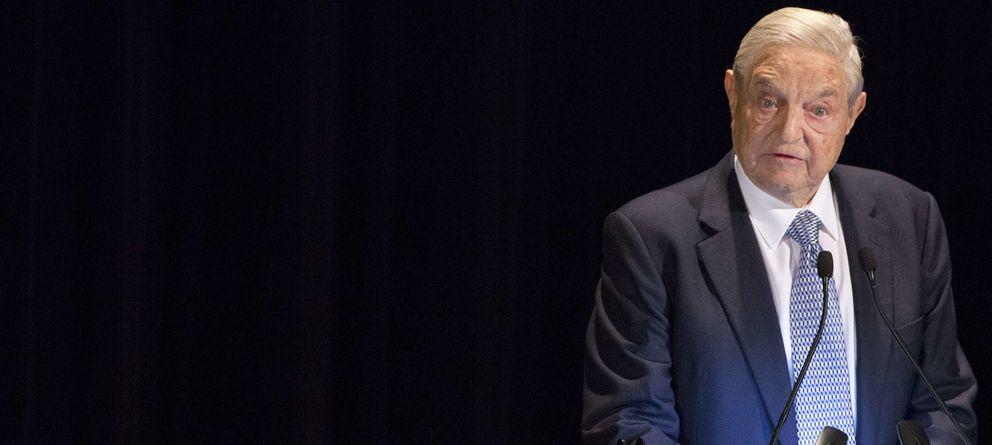 Foto: George Soros interviene en un acto benéfico celebrado en la ciudad de Nueva York (Reuters).