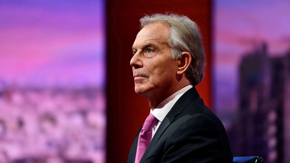Blair y Macron negocian entre bambalinas para frenar el Brexit