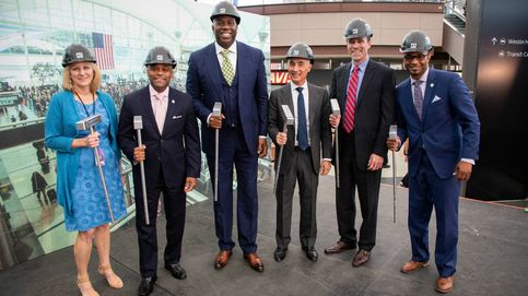 Ferrovial inicia la remodelación del aeropuerto de Denver con Magic Johnson