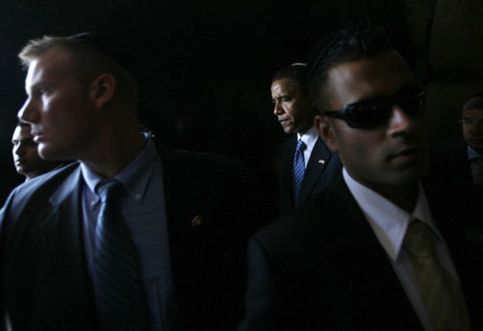 La escolta hi-tech del presidente