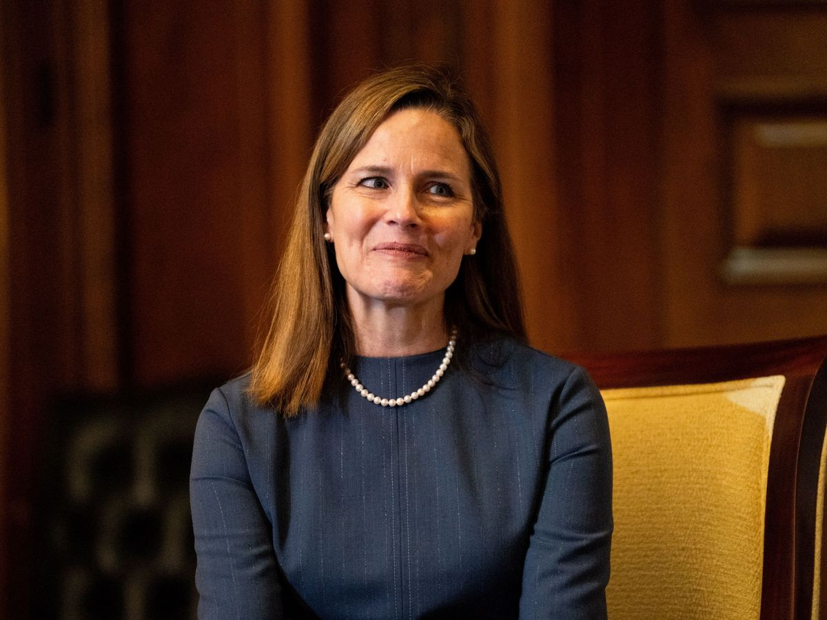 Foto: La jueza del Supremo, Amy Coney Barret. (EFE)