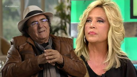 Lydia Lozano se cuela en el especial de Al Bano y Romina de 'Lazos de sangre'