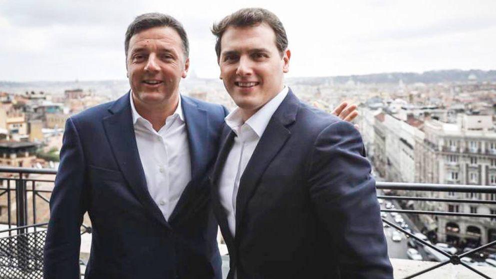 La 'Italian connection' de Rivera se hunde con Renzi