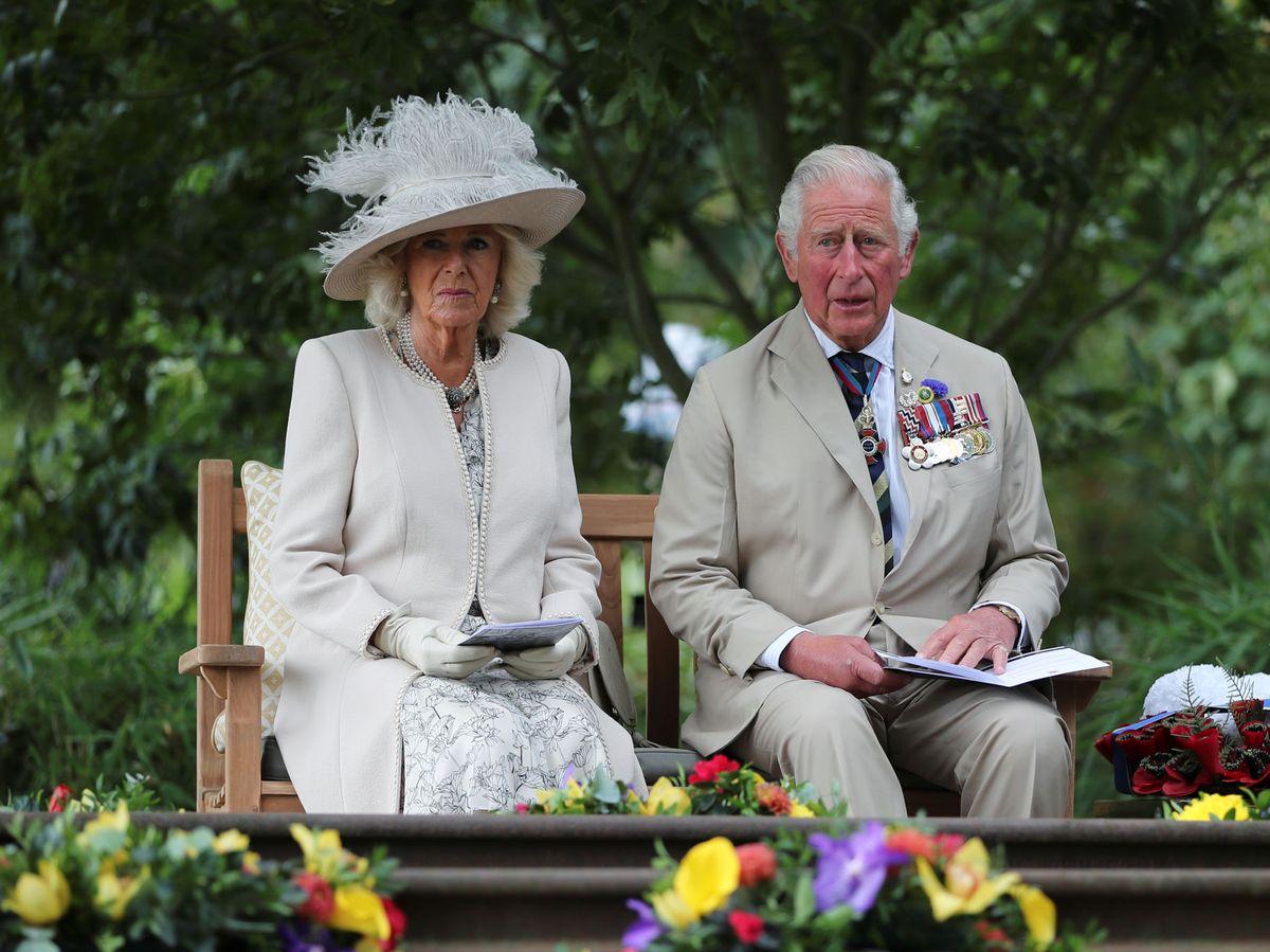 Foto: El príncipe Carlos y Camilla, en una imagen de archivo. (Reuters)