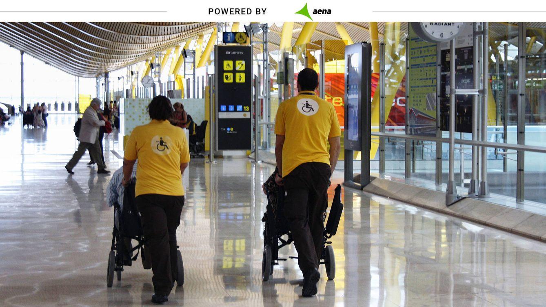1,7M de asistencias al año: así atiende Aena a las personas con movilidad reducida