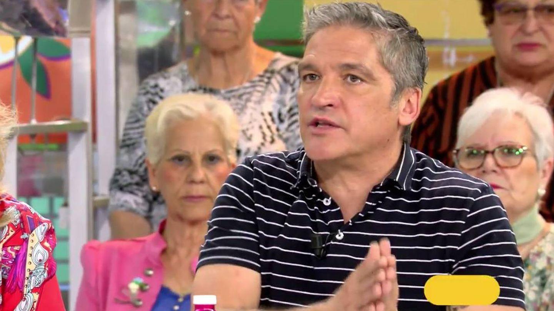 Gustavo González, en 'Sálvame'. (Mediaset)