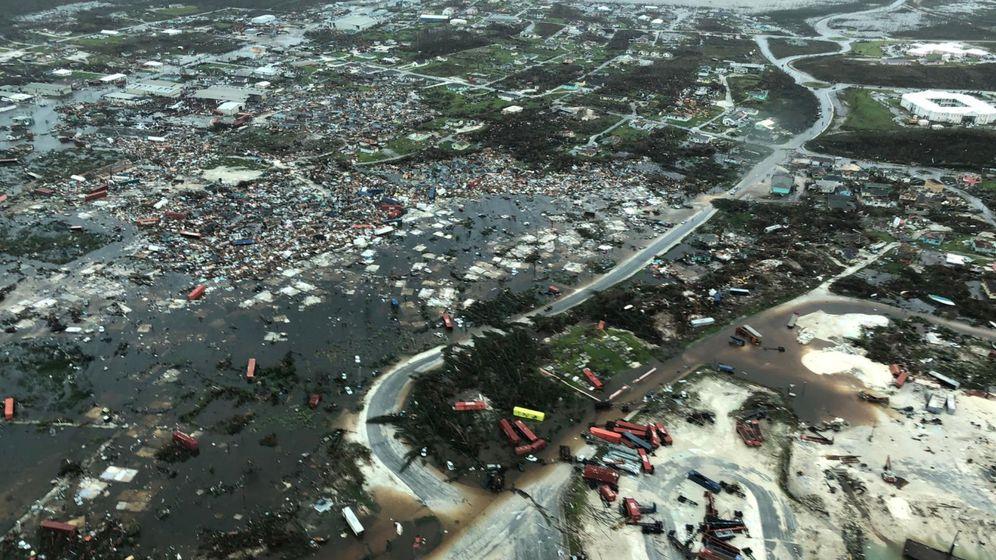 Foto: El área devastada que ha dejado Dorian a su paso por las Islas Ábaco. (Reuters)