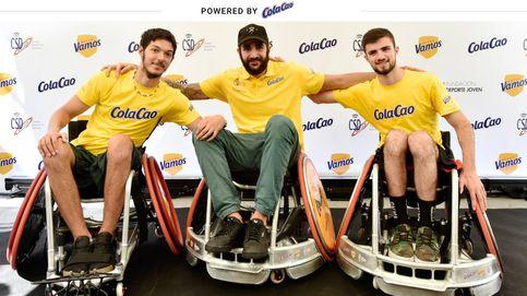 Ricky Rubio, embajador de los sueños deportivos de dos jóvenes en silla de ruedas