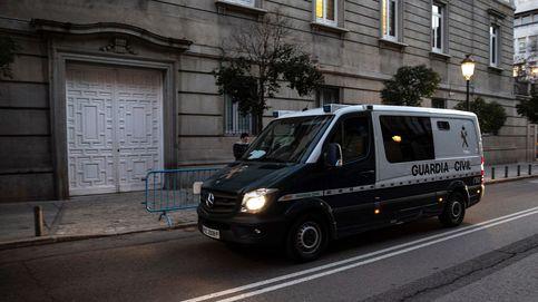 Así han llegado los presos del 'procés' de Alcalá-Meco a su cita con el Supremo