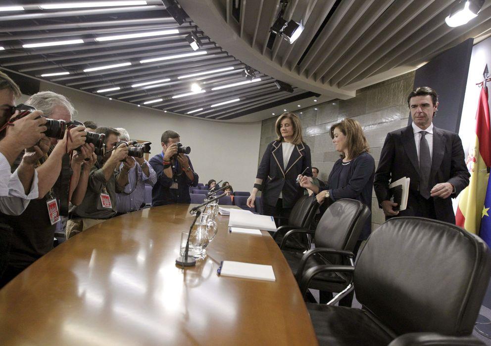 Foto: Rueda de prensa posterio al consejo de Ministros (Efe)
