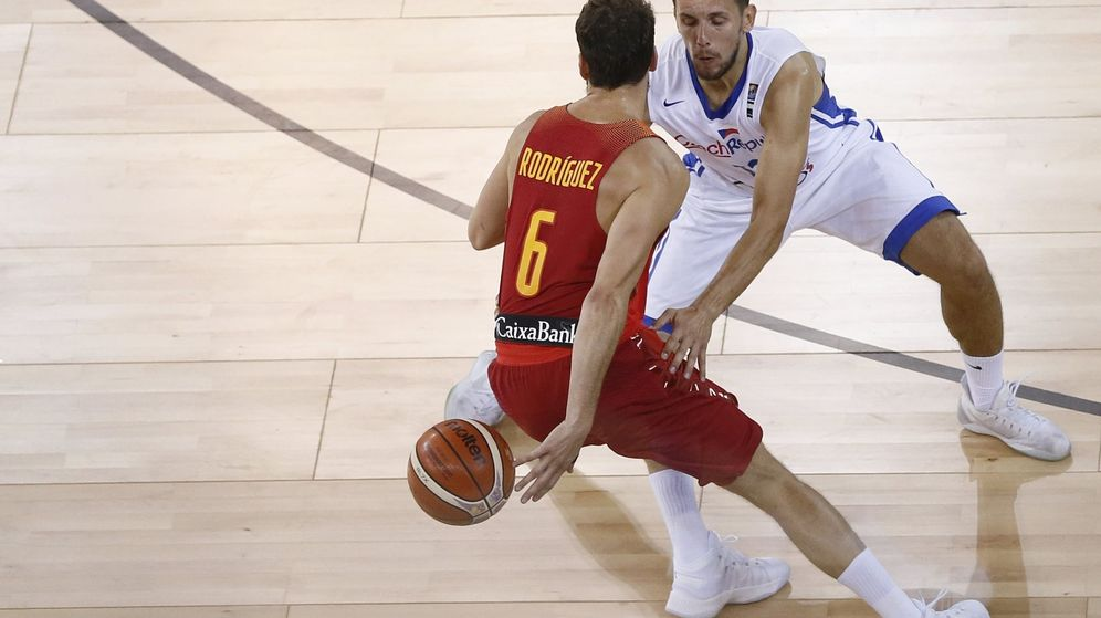 Foto: Sergio Rodríguez ha dado 14 asistencias en los dos primeros partidos de España en el EuroBasket. (EFE)