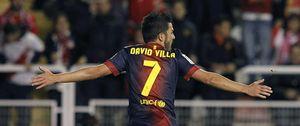 El Barcelona cuenta con Villa hasta junio y no escuchará ofertas