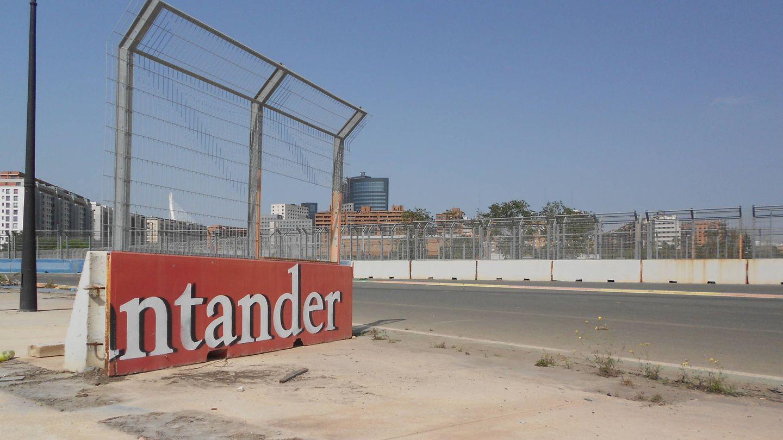 El Valencia Street Circuit es hoy un fantasma, abandonado y sucio. (V.R)