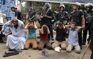 Egipto detiene a 360 hermanos musulmanes por terrorismo