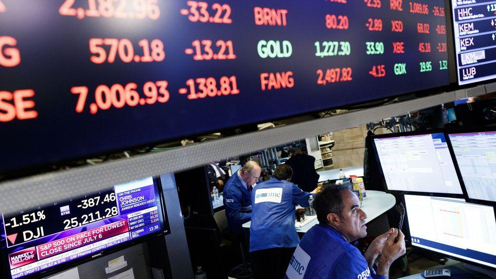 Foto: Bolsa de Nueva York (Reuters)