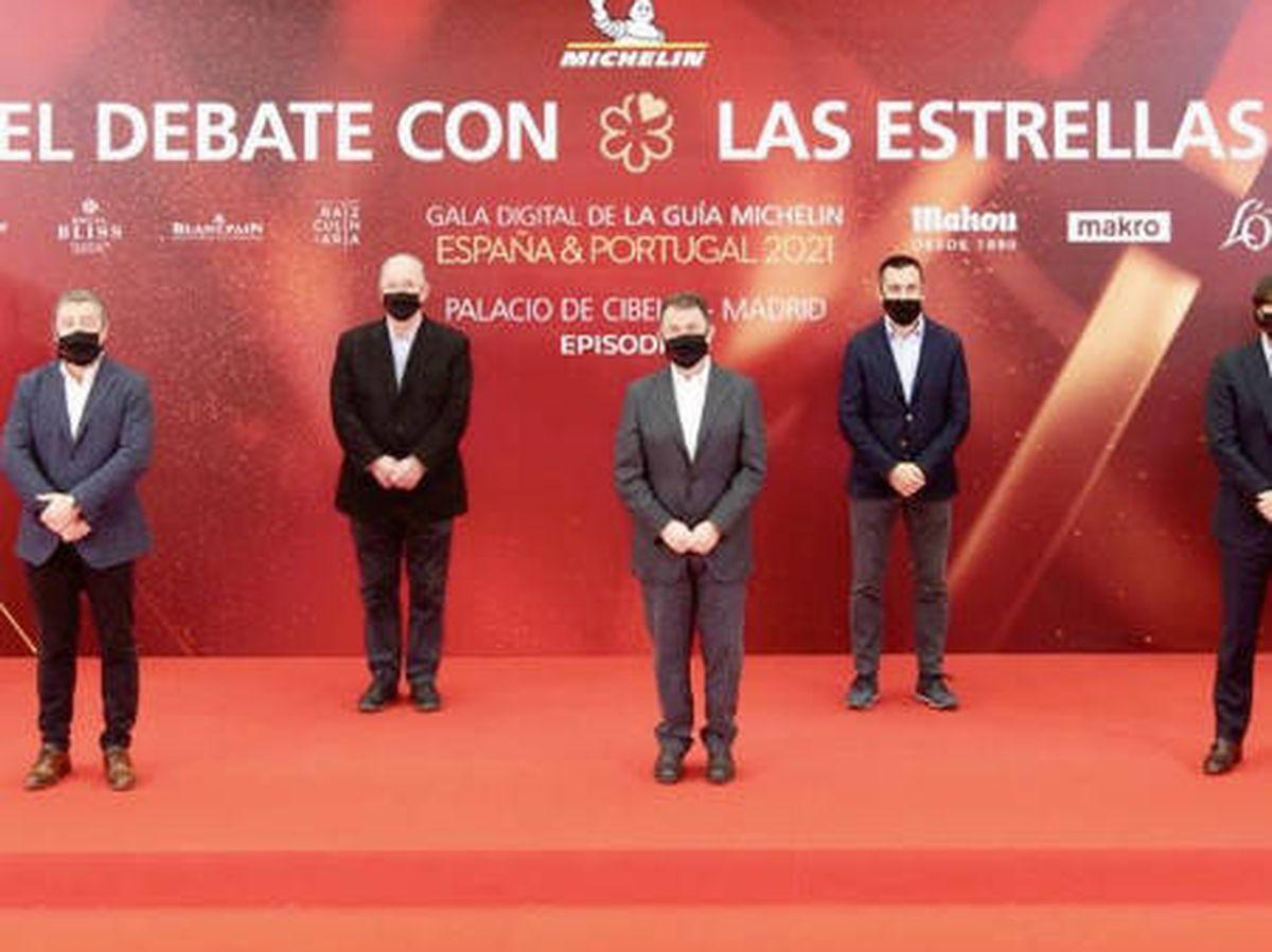 Foto: Gala de las Estrellas Michelin España & Portugal 2021.