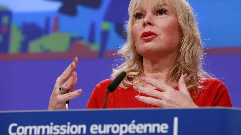 La comisaria europea de Industria y Mercado Interior, Elzbieta Bienkowska. (EFE)