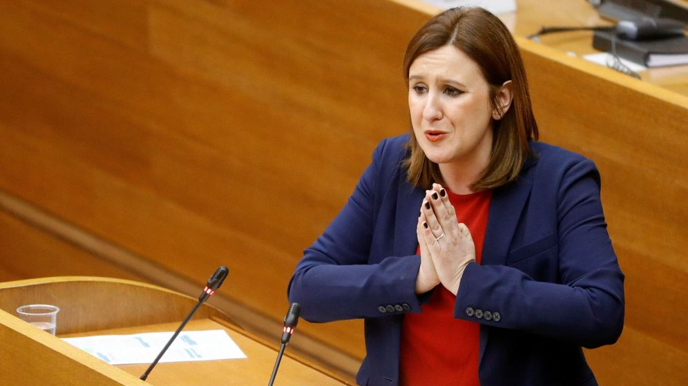 Foto: . La diputada del PP, María José Catalá. (EFE)
