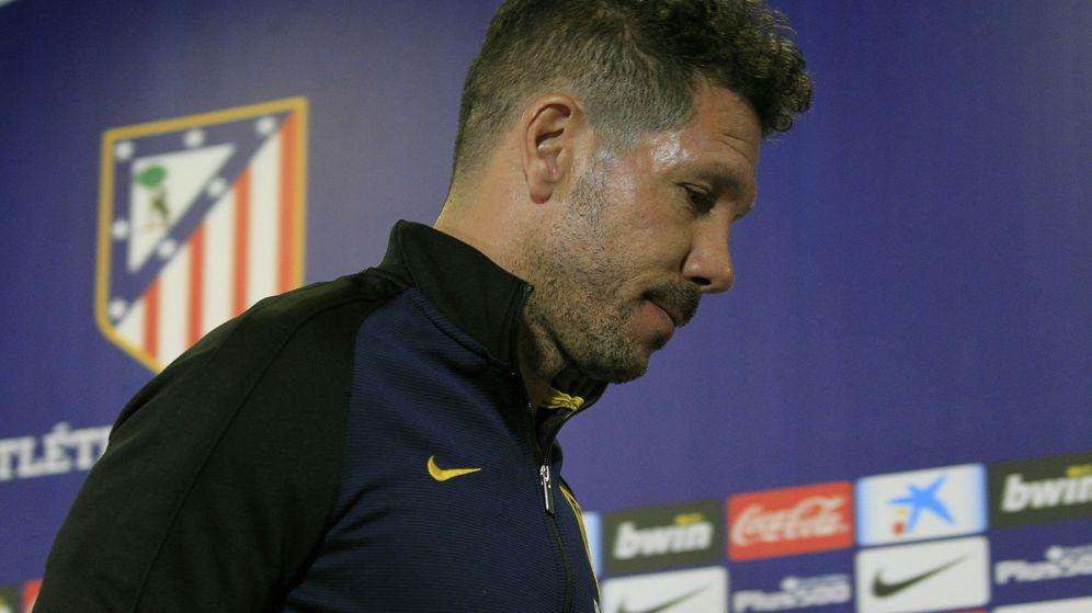 Foto: El entrenador del Atlético de Madrid, Diego Pablo Simeone (EFE)