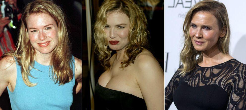 Foto: El cambio de la actriz en los últimos 25 años ha sido evidente. La primera, de 1998, la última, de este lunes (Reuters)
