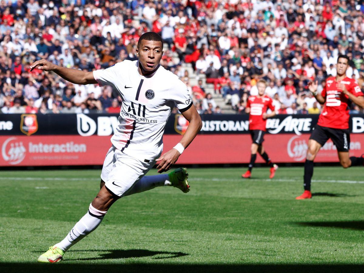 Foto: Mbappe nella sconfitta della sua squadra contro il Rennes.  (Reuters)