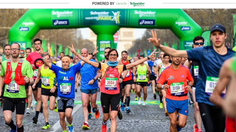 Más de 55.000 personas participan en la primera maratón sostenible del mundo