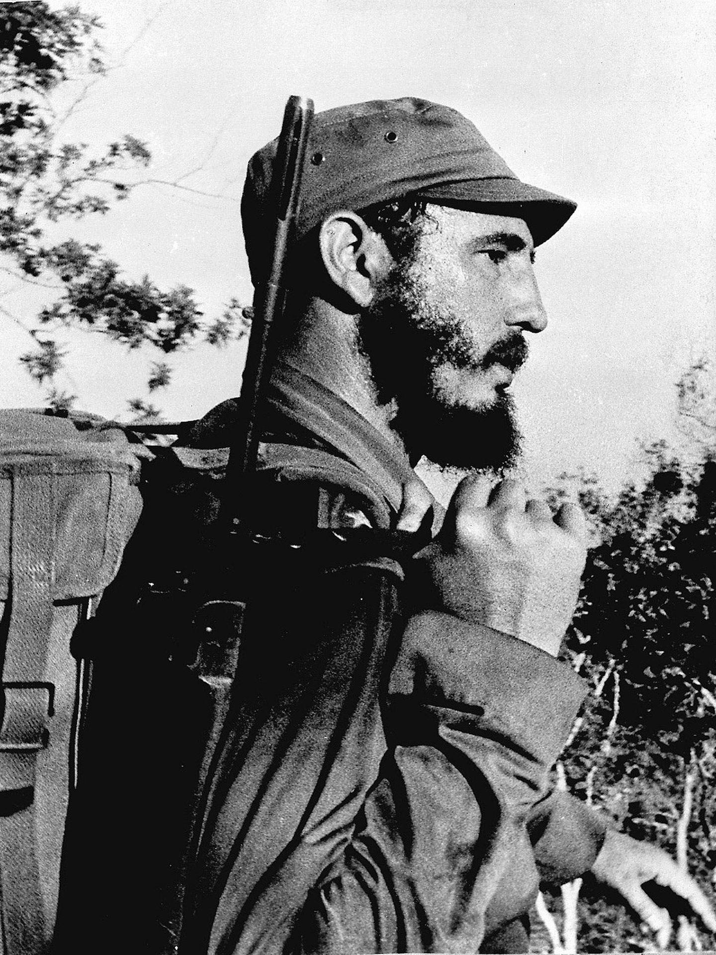 Fidel Castro en la Sierra Maestra, 1959 (Reuters)
