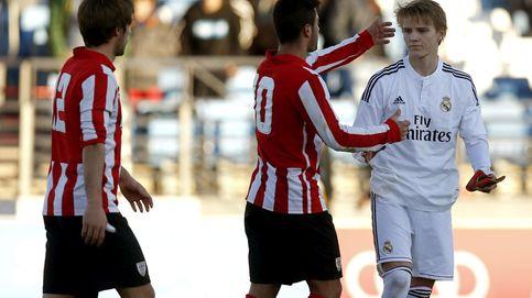 El Madrid Castilla ya disfruta con la calidad y los goles de Odegaard