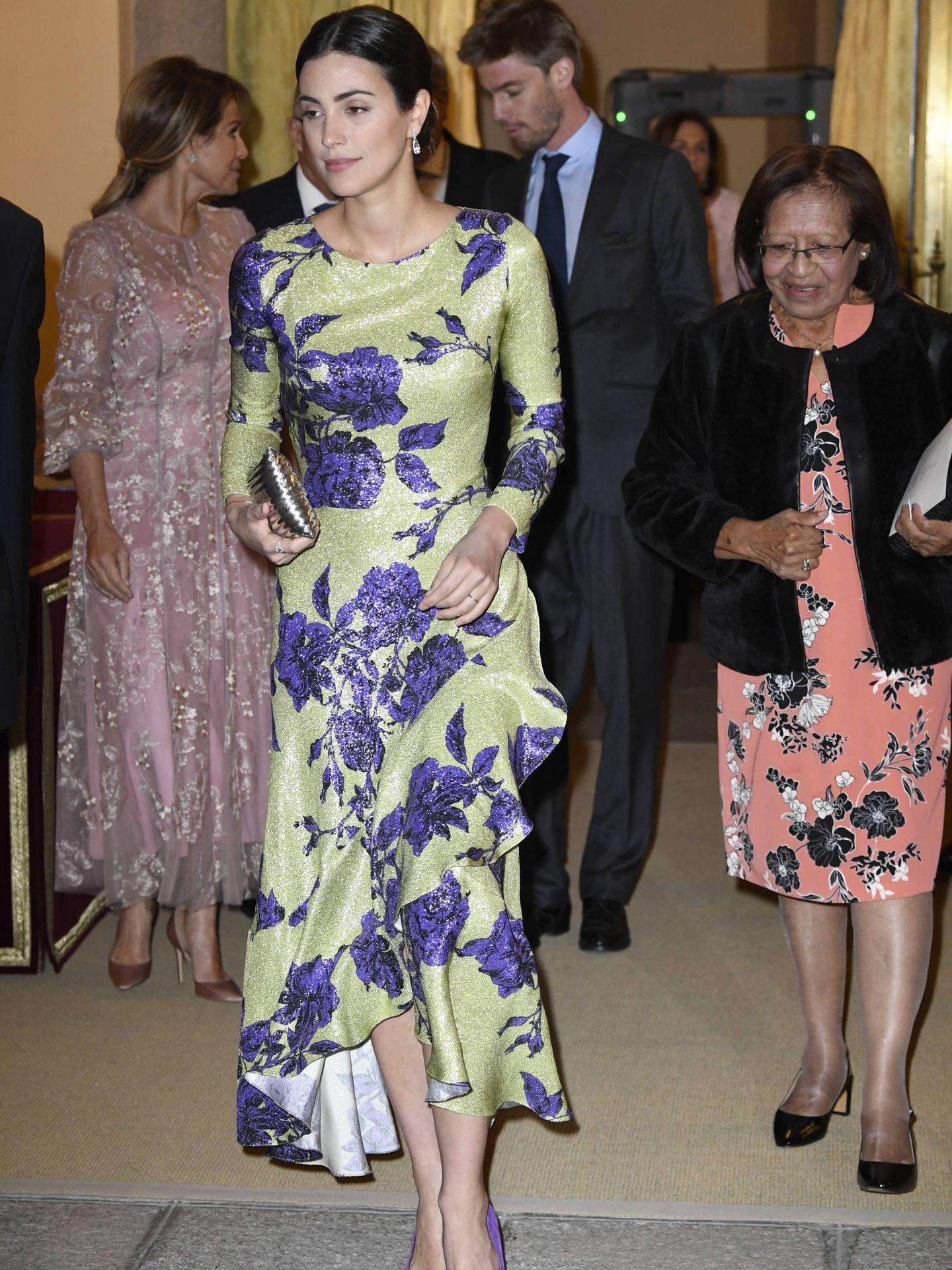 Sassa de Osma, con el vestido de Jorge Vázquez. (Limited Pictures)