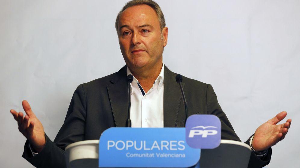 Foto: El presidente de la Generalitat en funciones, Alberto Fabra. (EFE)