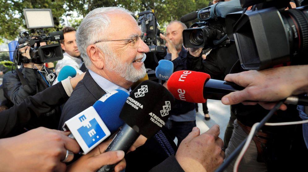 Foto: El exdirector general de la Policía y de las Cortes Valencianas Juan Cotino. (EFE)