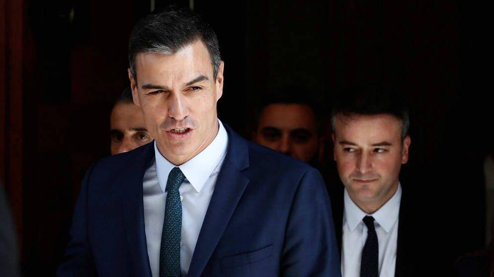Foto: Pedro Sánchez y su jefe de gabinete en Moncloa, Iván Redondo. (EFE)