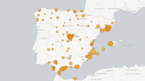 Los municipios con más delitos se concentran en la costa mediterránea