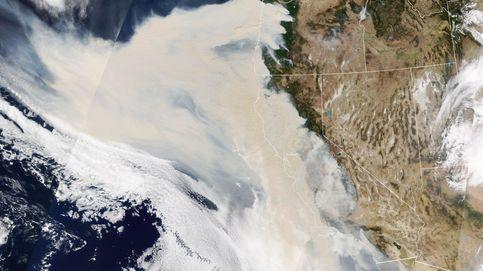 El humo de los incendios de EEUU cruza hacia la península y llega a Baleares