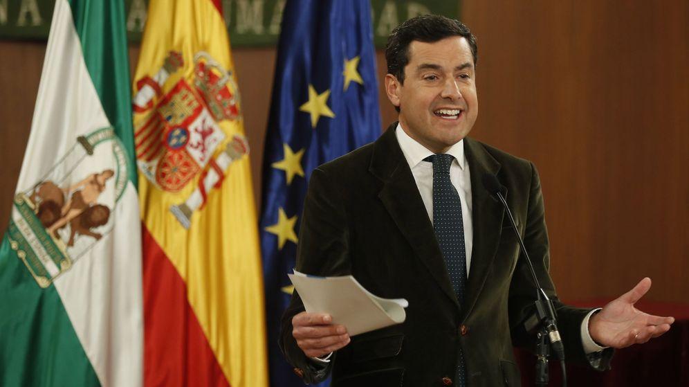 Foto: El líder del PP-A , Juanma Moreno. (EFE)