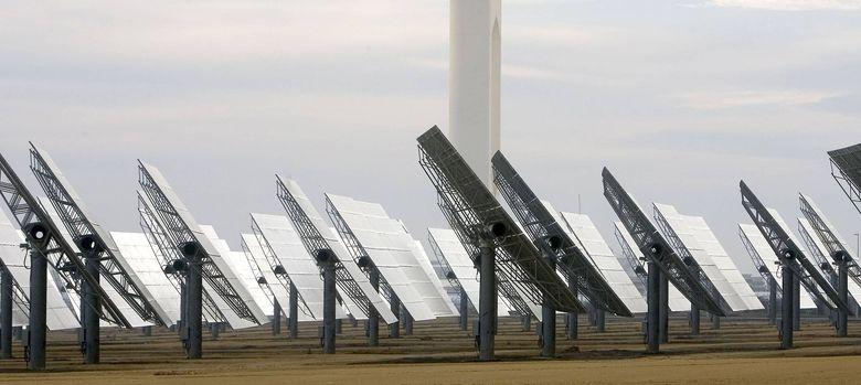 Foto: Instalaciones solares. (EFE)