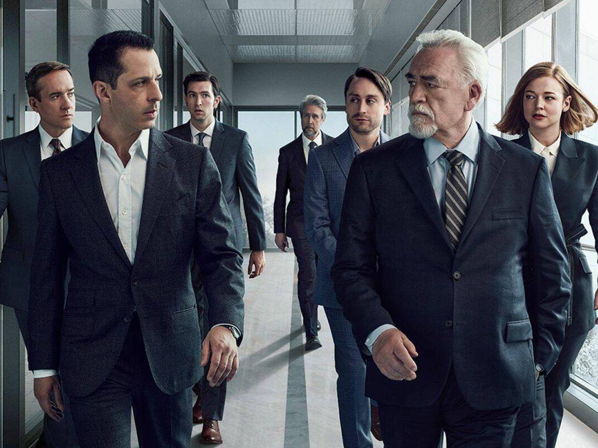 Foto: Cartel promocional de la tercera temporada de 'Succession'. (HBO MAX)