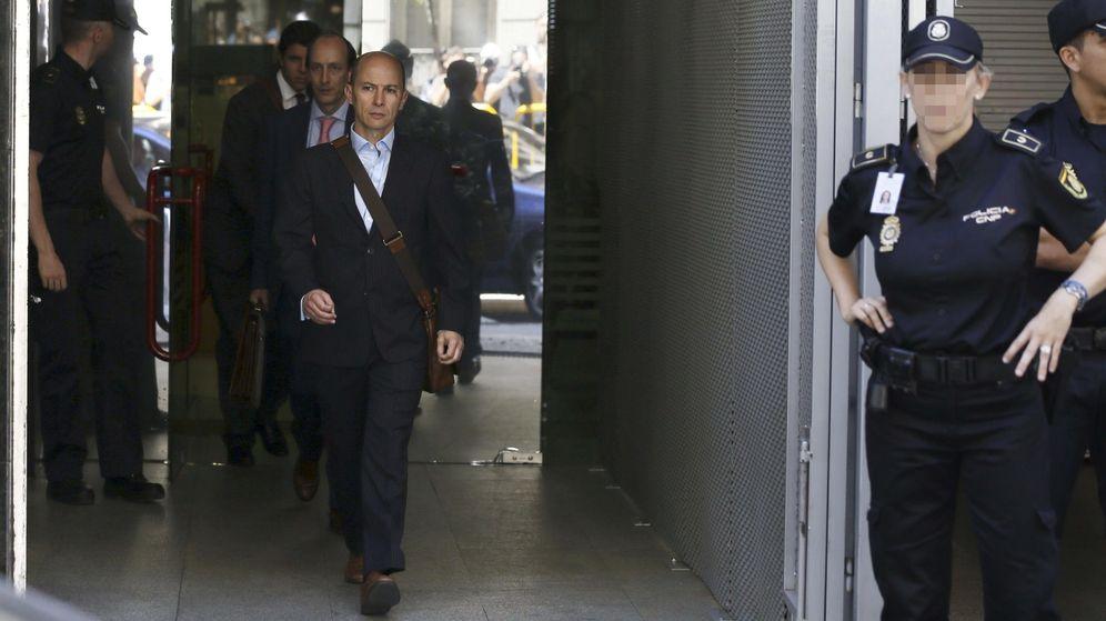 Foto:  El expresidente de Gowex, Jenaro García, a la salida de la Audiencia Nacional. (EFE)