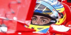 """Alonso, confiado en que la """"línea de Ferrari"""" es claramente """"ascendente"""""""