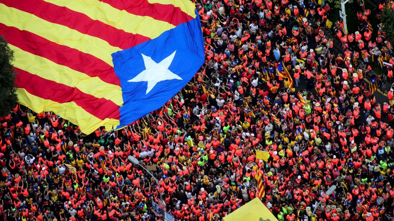 Foto: Imágenes de la última Diada, el 11 de septiembre de 2018, en Barcelona. (Reuters)