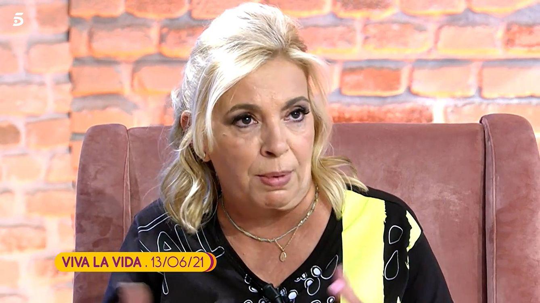 Bloqueo total   La dirección de 'Sálvame' cierra las puertas a Carmen Borrego