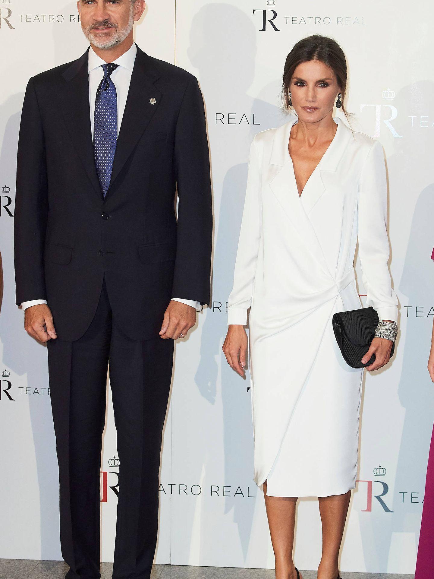 Los reyes Felipe y Letizia, en el Teatro Real. (Limited Pictures)